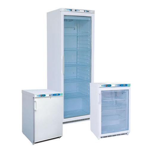 frigorífico vertical / de laboratorio / para banco de sangre / hermético