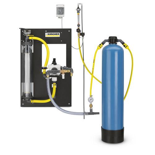 unidad de filtración de carbón activado / para aguas residuales