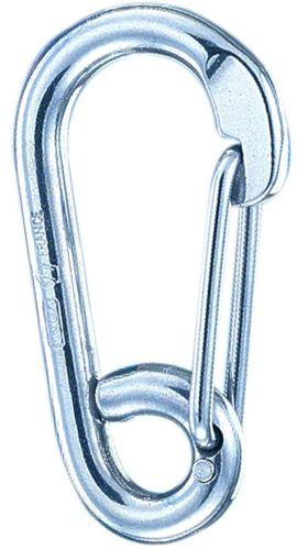 mosquetón de seguridad para velero / de metal / asimétrico