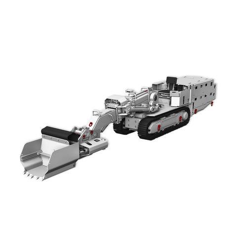 cargadora de orugas / telescópica / para mina subterránea / para roca