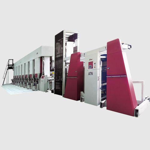 máquina de impresión por huecograbado / multicolor / para etiquetas / para papel