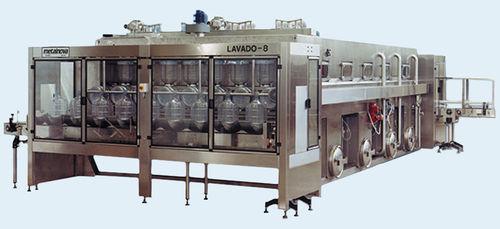 Máquina de lavado de en medio acuoso / por aspersión / de botellas LAVADO Metalnova
