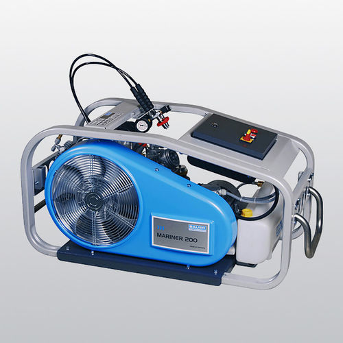 compresor de aire respirable / portátil / con motor eléctrico / con motor de gasolina