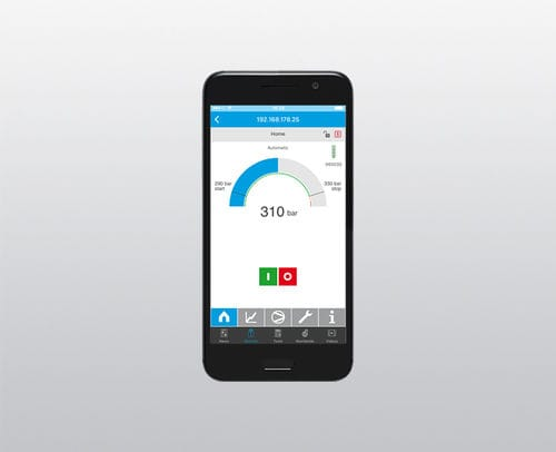 aplicación móvil de cálculos / de acceso a distancia / para compresor / Androïd
