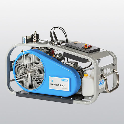 compresor de aire respirable / móvil / con motor eléctrico / con motor de gasolina