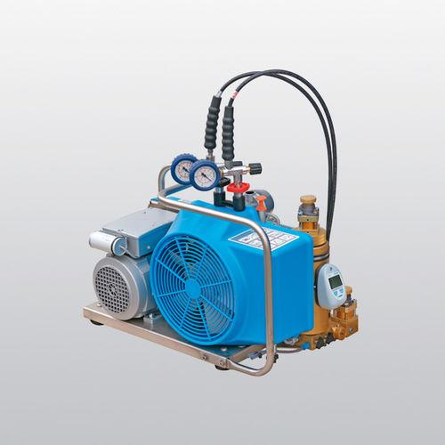 compresor de aire respirable / móvil / con motor de gasolina / eléctrico