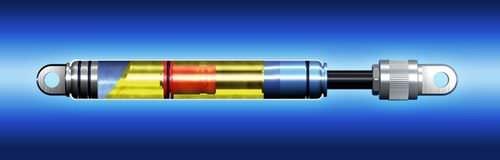 Amortiguador de trincado / de choque / hidráulico / ajustable BANSBACH easylift