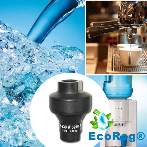 regulador de presión para agua potable / monoetapa / de membrana / de material compuesto