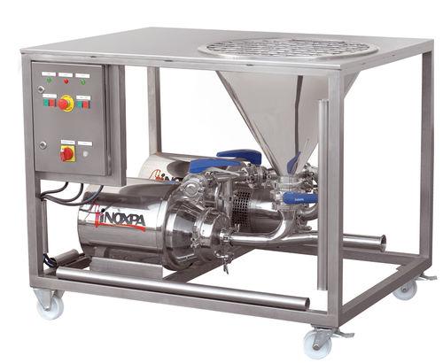 Mezcladora batch / con bomba centrífuga / líquido-sólido MM INOXPA