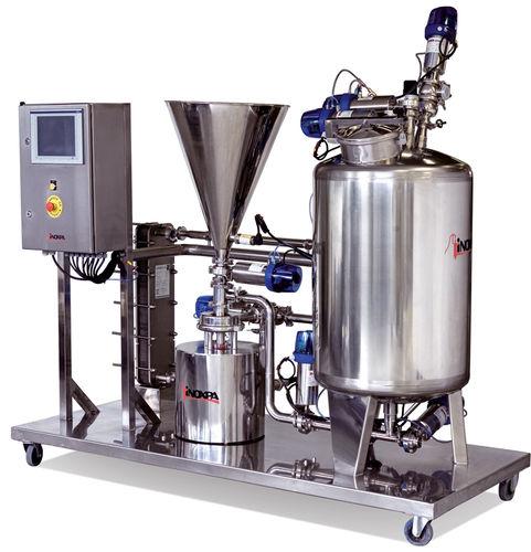 Mezcladora batch / líquido-sólido / con bomba centrífuga INOXPA