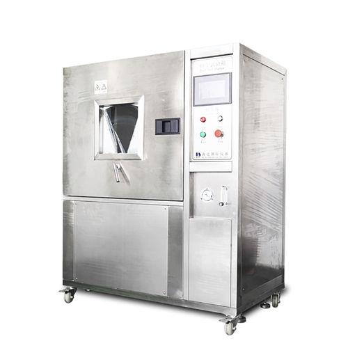 cámara de pruebas de corrosión de arena / de estanqueidad al polvo / con ventanas / de acero inoxidable