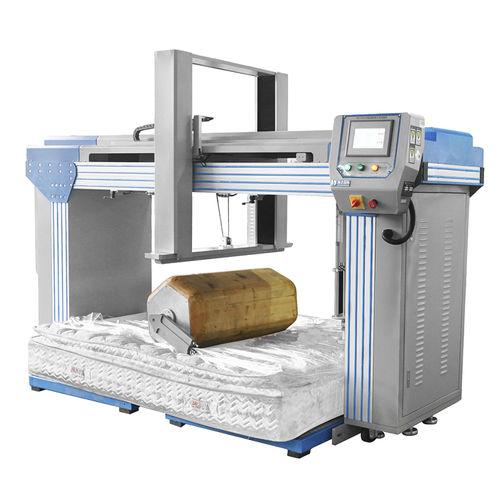 máquina de ensayo de durabilidad / de fatiga / para colchón / horizontal