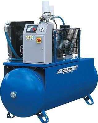 Compresor de aire / estacionario / de motor eléctrico / de tornillo BK series Remeza