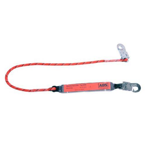 cabo de anclaje anticaída de cuerda / con absorbedor de choques