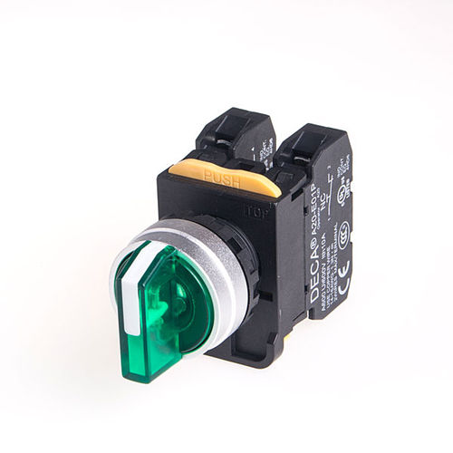 Interruptor de selección / multipolar / electromecánico DECA Illuminated Selector Switches SWITCHLAB INC.