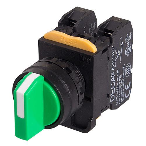 Interruptor con botón selector / multipolar / electromecánico A20S SWITCHLAB INC.