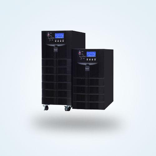 ondulador UPS de doble conversión / monofásico / para batería / con pantalla LCD
