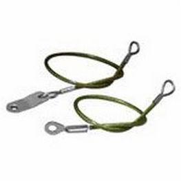 cabo de anclaje anticaída de cuerda / doble