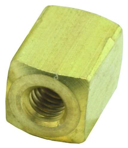 racor de rosca / recto / hidráulico / de latón