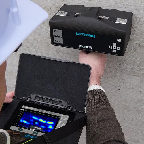 aparato de inspección PND por ultrasonidos para tomografía - Proceq