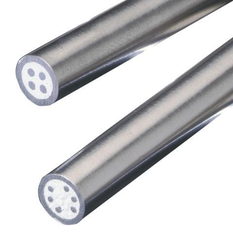 cable eléctrico de alimentación / de alta temperatura / resistente al fuego / redondo