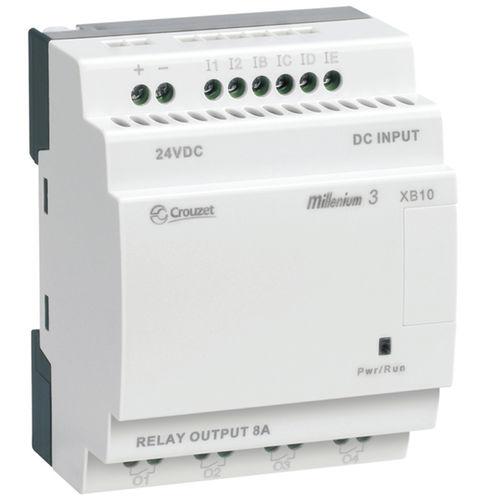 autómata programable en riel DIN / entradas analógicas / con tarjetas de E S extensibles