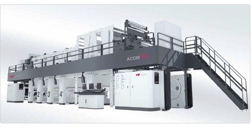 máquina de impresión por huecograbado / para etiquetas