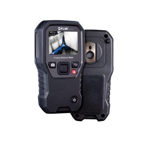 humidímetro para materiales sólidos / de imagen térmica / con visualizador digital / de mano