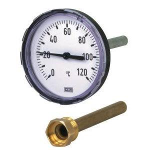 termómetro de sonda / analógico / de inserción / para enroscar