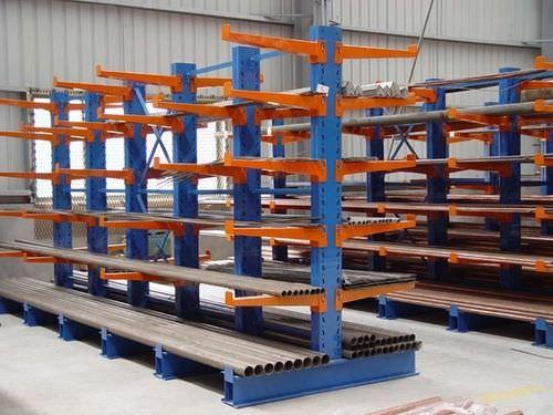 sistema de estanterías cantilever / para carga pesada / para carga alargada / semi-pesada