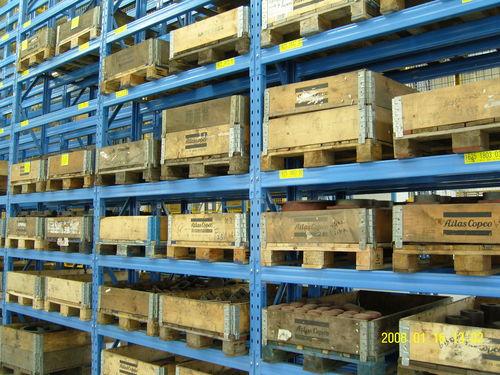 Sistema de estanterías con paleta / para carga pesada / ajustable ISO9001, ISO14001 | UN-PR0805 Jiangsu Union Logistics System Engineering Co.,Ltd