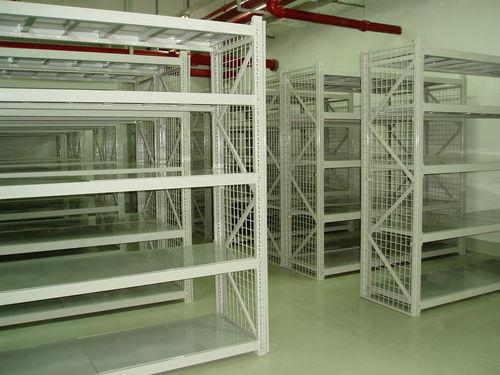 sistema de estanterías de oficina / para carga ligera / galvanizado / para piezas pequeñas