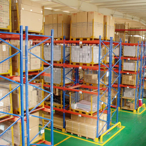 sistema de estanterías con paleta / depósito de almacenamiento / para carga pesada / ajustable