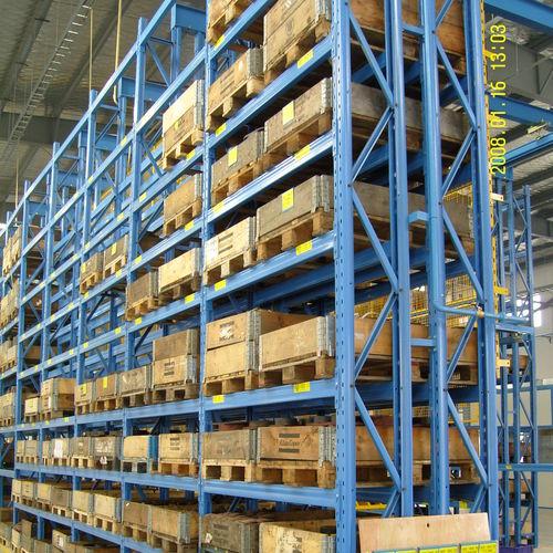 Sistema de estanterías con paleta / para carga pesada / ajustable ISO9001, ISO14001   UN-PR0813 Jiangsu Union Logistics System Engineering Co.,Ltd