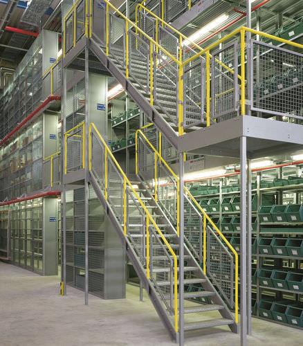 Entreplanta industrial con varios niveles / para palés ISO9001, ISO14001 | UN-MR0802 Jiangsu Union Logistics System Engineering Co.,Ltd