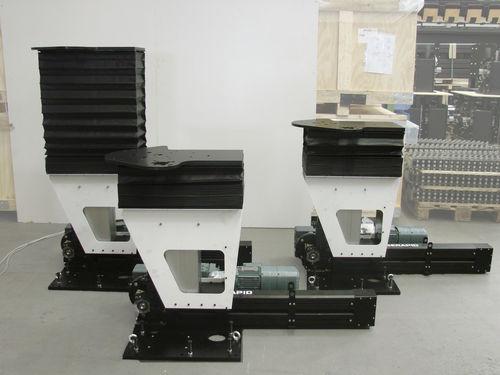 columna telescópica para carga pesada