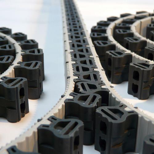 Actuador con cadena rígida / lineal / eléctrico / amagnético RigiBelt SERAPID