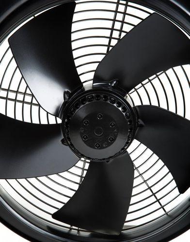 ventilador axial / de pared / de refrigeración / de circulación de aire