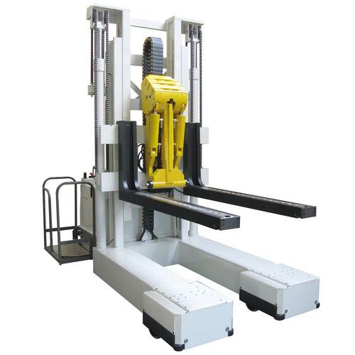 Apiladora eléctrica / con plataforma para el conductor / de carga / de descarga Stackmatic DIMECO