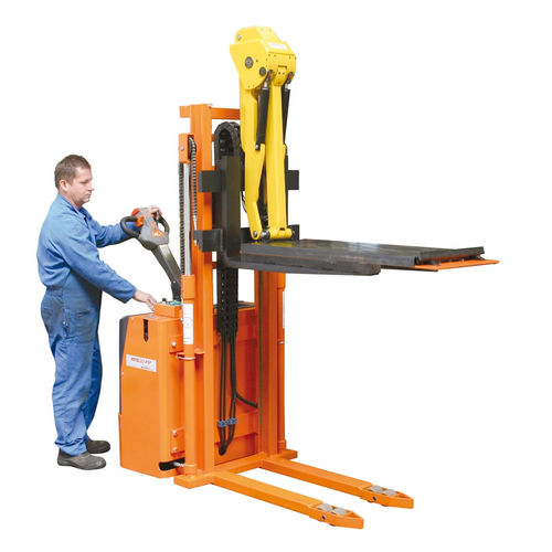 Apiladora eléctrica / con operador a pie / para la manutención de herramienta de prensa / con plataforma Liftmatic DIMECO
