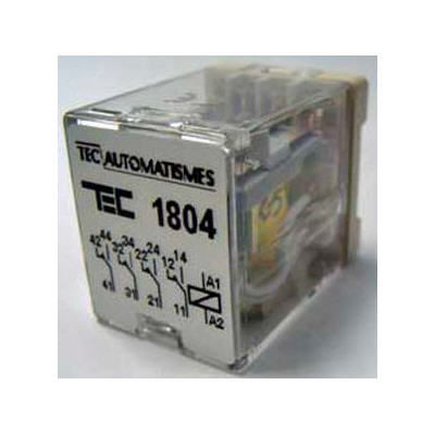 relé electromecánico 6 V CC / enchufable / de potencia