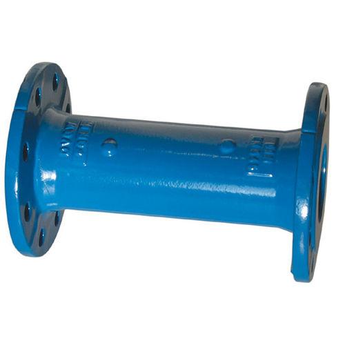 tubería rígida para agua / para gas / de hierro fundido / de brida