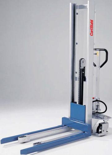 apiladora manual / con operador a pie / de transporte / de carga