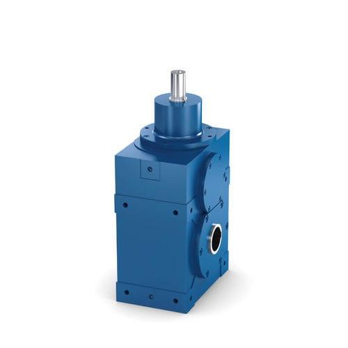 reductor con engranajes espirocónicos / de engranaje helicoidal / de precisión / para reductor