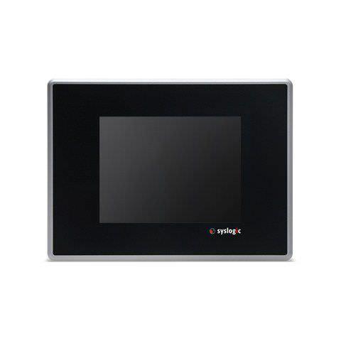 Panel PC TFT LCD / con pantalla táctil resistiva / DM&P Vortex86DX / compacto HMI system | Resistive Touch TFT/HB057RU41 Syslogic GmbH