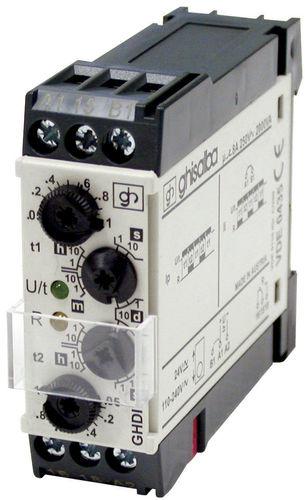 temporizador electromecánico GH series GHISALBA