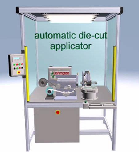 Unidad de alimentación de cola para sistemas de aplicación - Die ...