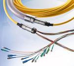 ensamblaje de cables de transmisión de datos / de fibra óptica / flexible
