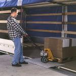 rampa de carga para muelle / móvil / de aluminio