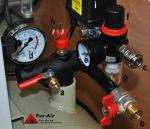 compresor de aire / móvil / sin aceite / sobre tanque